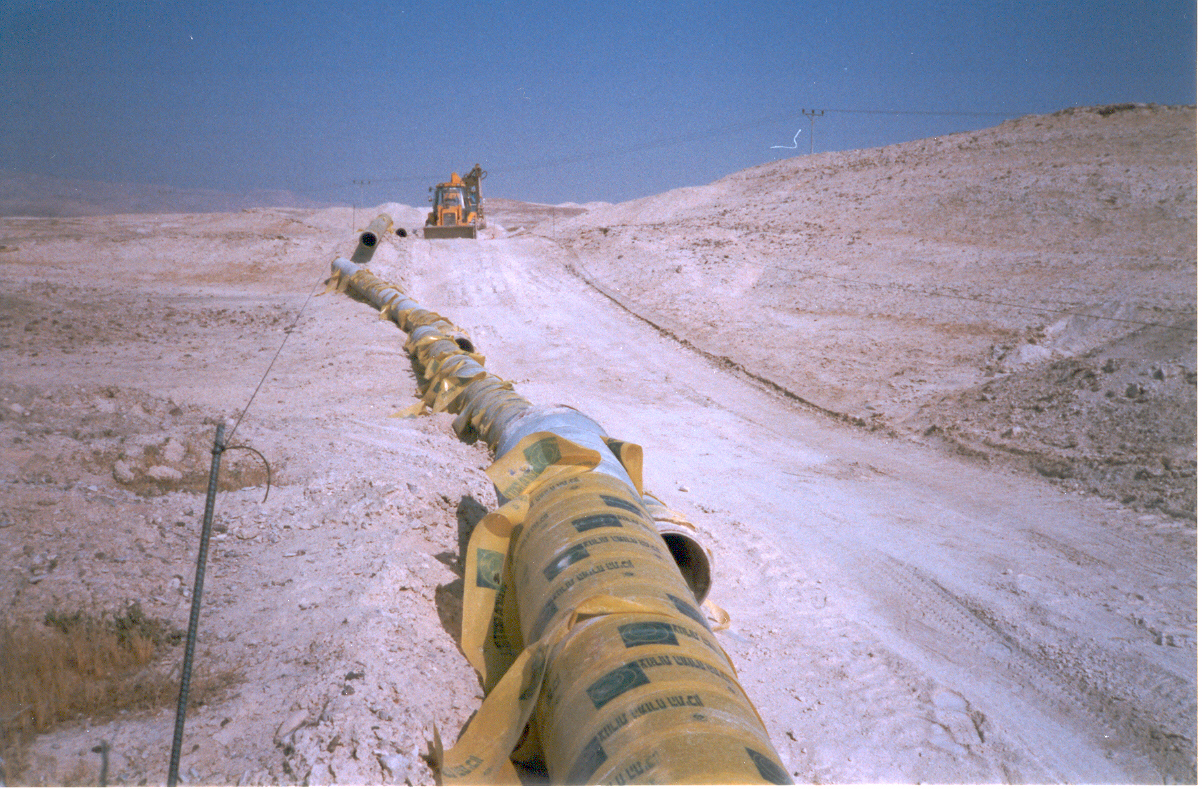 Kidron Mount of Olives Sewage Line and Drainage Carrier