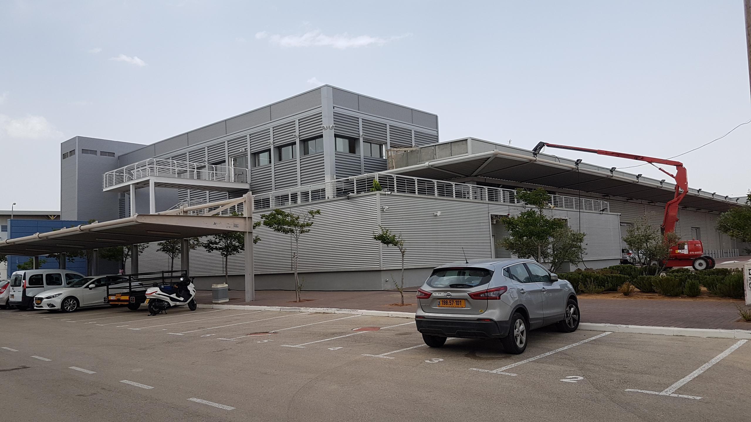 המרכז הלוגיסטי של ועדת הבחירות המרכזית של הכנסת