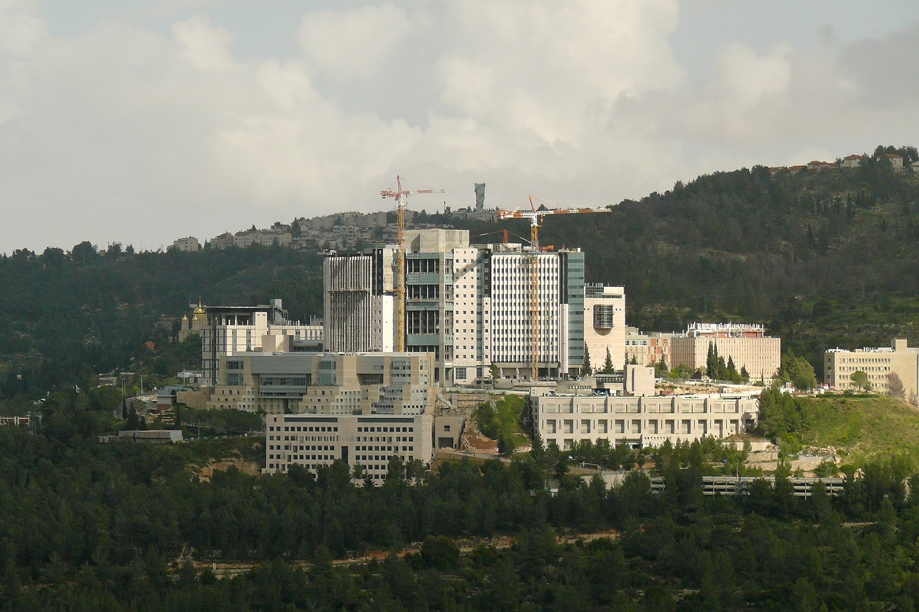 Hadassah Ein Kerem: The Sarah Wetsman Davidson Tower