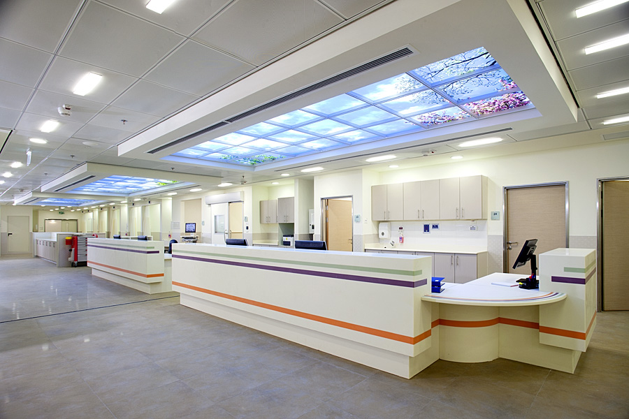 מרכז רפואי רבין– חניון ממוגן, חדר מיון ומגדל אישפוז